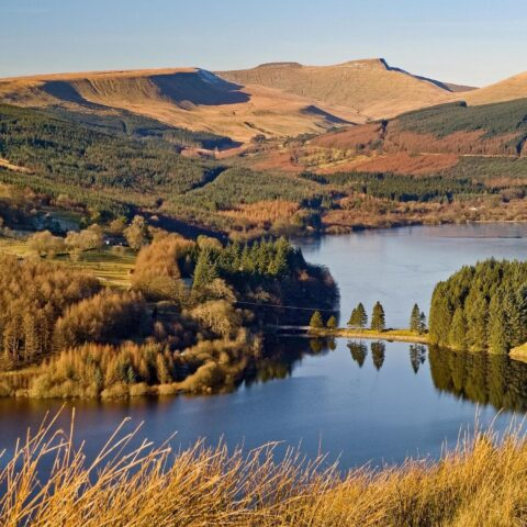 Pontsticill and Dolygaer Reservoirs